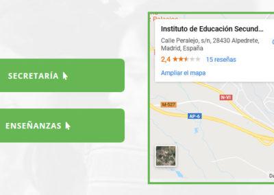 instituto tecnologico web pagina Diseño paginas web