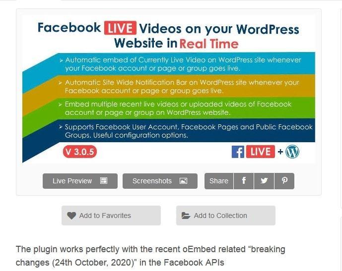 integracion FacebookLive 1 Diseño paginas web