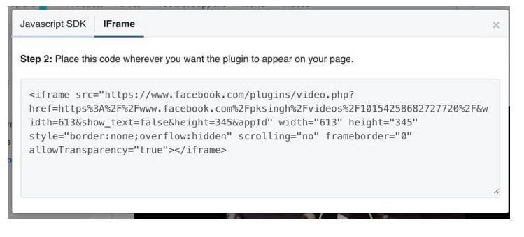 integracion FacebookLive 5 Diseño paginas web