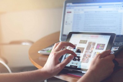 pagina web tablet
