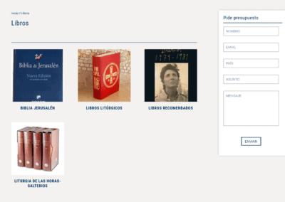 Libros Liturgia Diseno Web