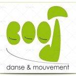 logotipo academia escuela baile
