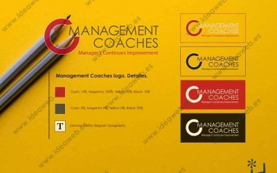 Diseño de logotipo para coaching coaches de empresa y coach empresarial