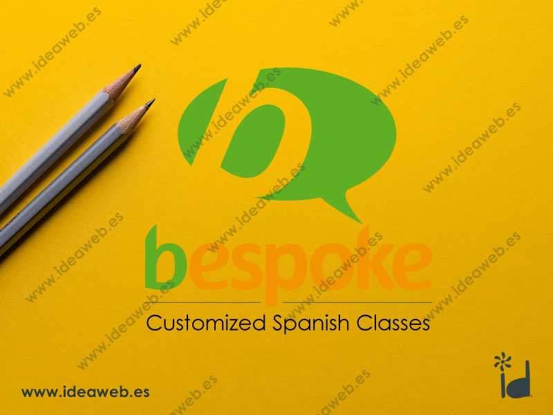 Logotipo para empresa de idiomas traducción formación extranjeros