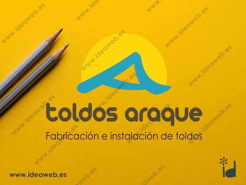 Diseño de logotipo para empresa de instalación y fabricación de toldos en Madrid