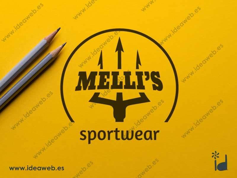 Logotipo empresa ropa deportiva marca