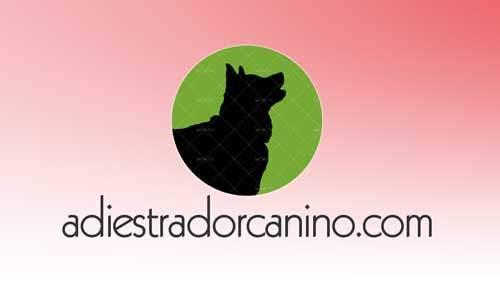Diseño de logotipo para adiestrador canino