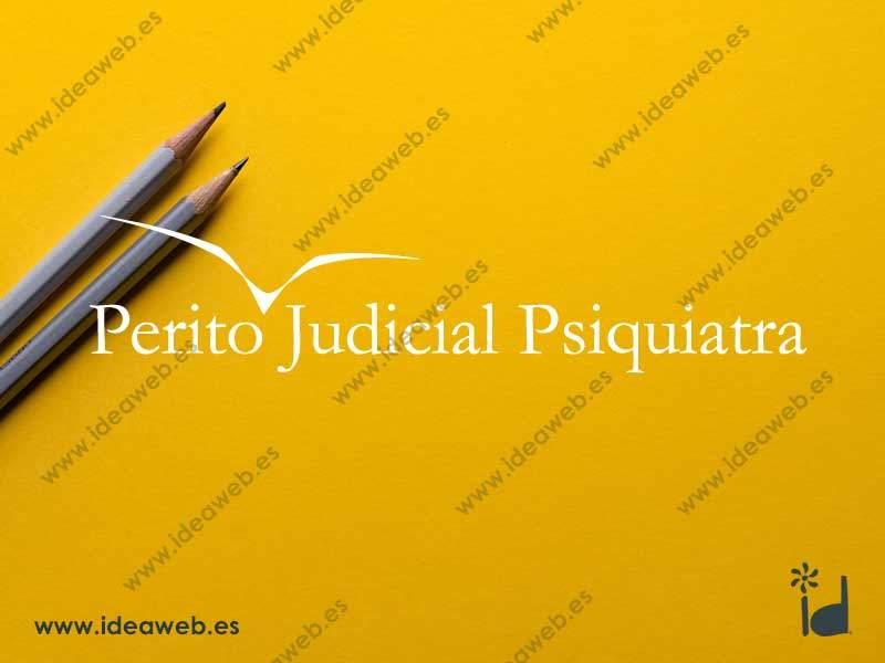 Diseño de logotipo para psiquiatria perito psicólogo