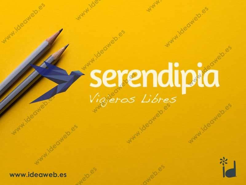 Logotipo viajes agencia gestora empresa