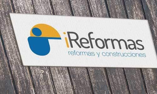 Diseño de logotipo para empresa de construcciones y reformas