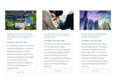 Mercado Inmobiliario Madrid Web
