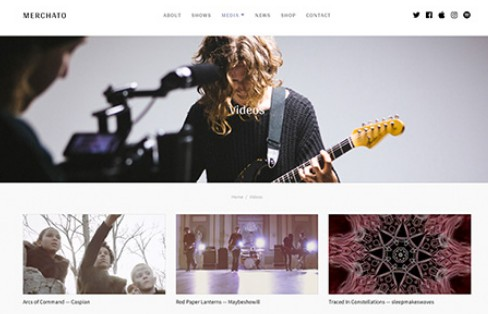 wordpress musica music