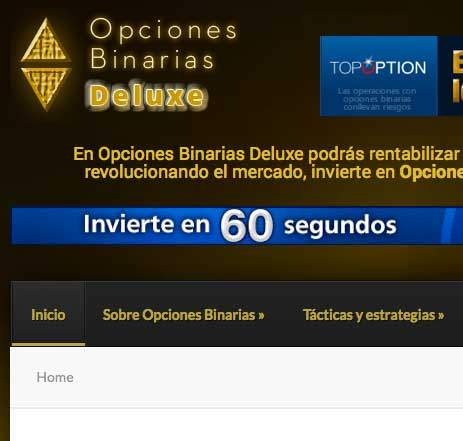 Sitio web de opciones binarias