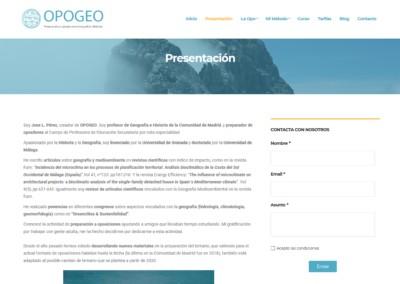 Oposiciones Madrid Opogeo Disenadores Web