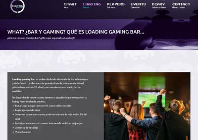Pagina Empresa Bar Gaming