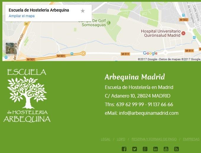 diseño web hosteleria Madrid