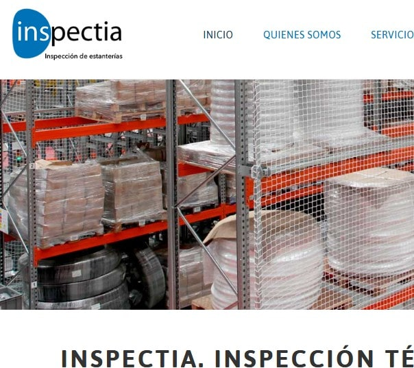 Diseño de páginas web para empresa de ingeniería, formación y certificación