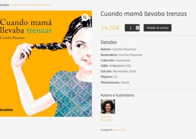 pagina para libros infantiles Diseño paginas web