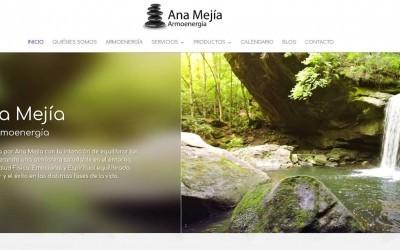 Diseño de páginas web para sanación energética reconexion salud y bienestar