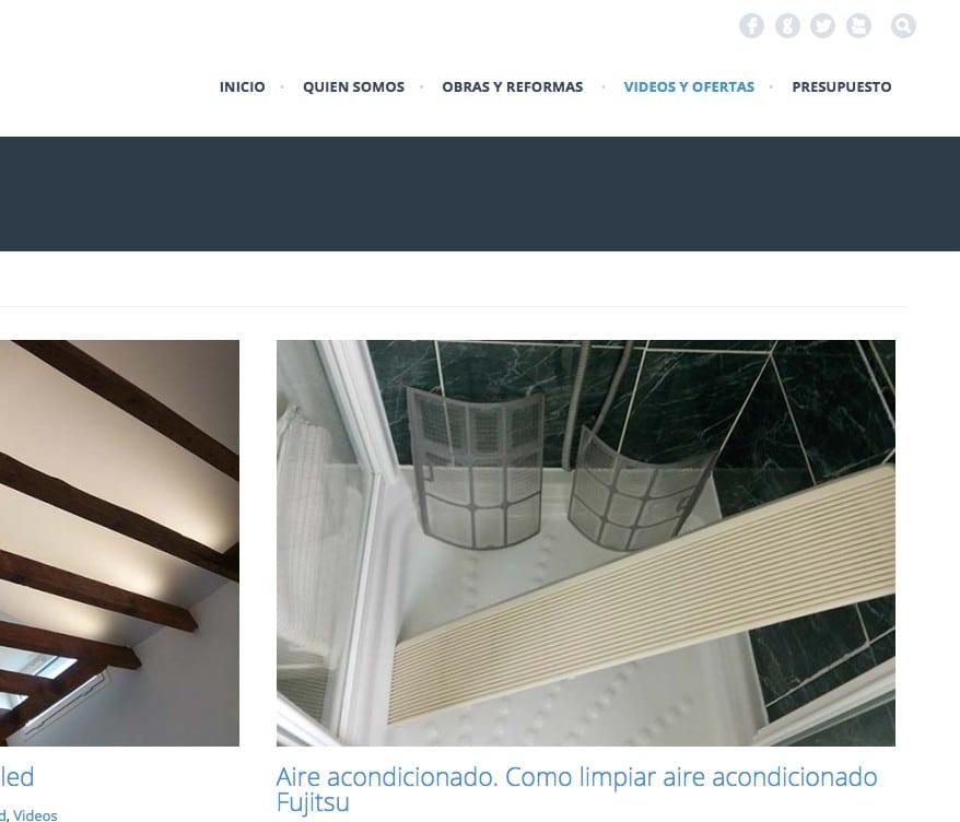 web para electricista
