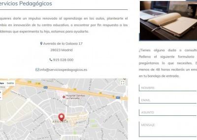 pagina web pedagogia