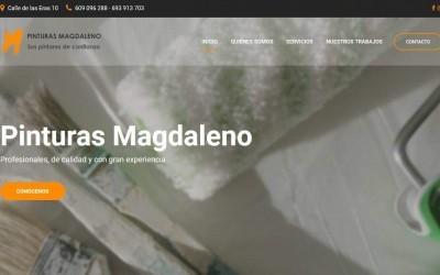 Diseño de páginas web para empresa de pintores y reformas en madrid