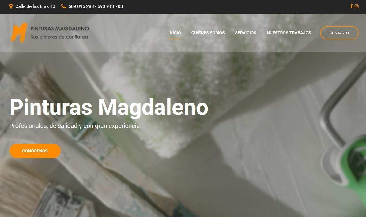 Dise o de p ginas web para empresa de pintores y reformas - Empresa de pintores en madrid ...