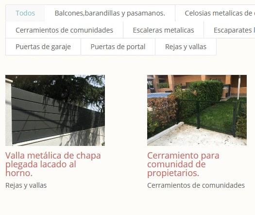 Web Artesano Madrid