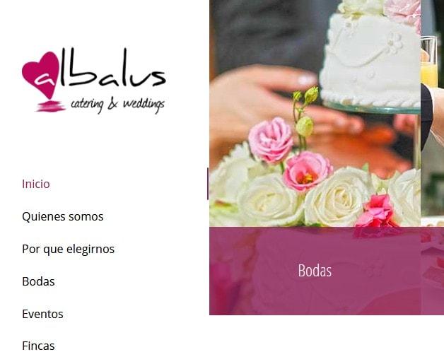 Diseño de página web para empresa de catering y restauración en Madrid