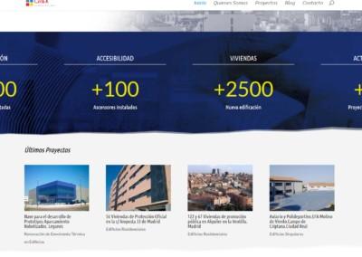 Pagina Web Creaarquitectos Madrid