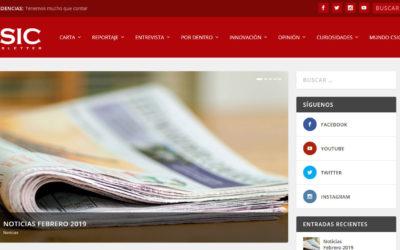 Diseño de pagina web para entidad nacional centro nacional dependiente del ministerio de defensa.