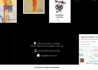 Pagina Web Cursos Teatro Madrid
