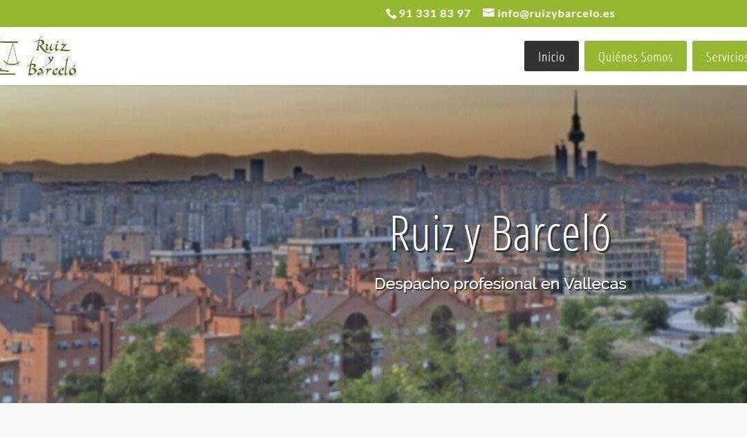 Diseño de páginas web para despacho abogados, asesores legales, abogacía, defensa legal