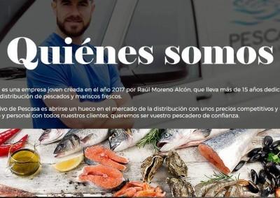 diseño web pescado