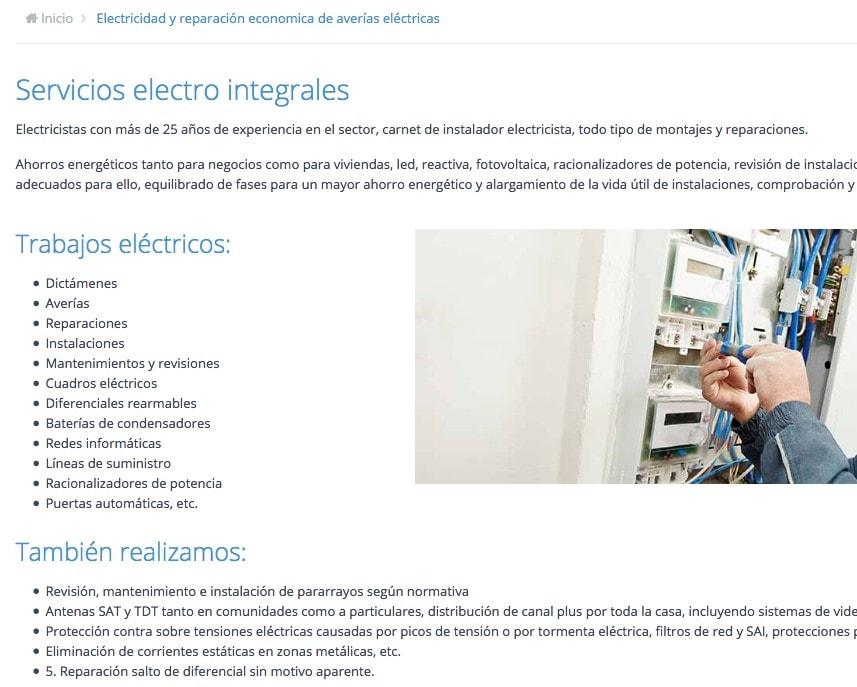 creación de pa´gina web en madrid