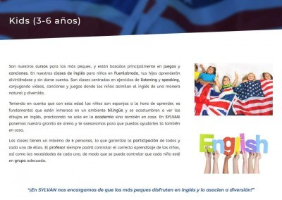 pagina web empresa academia