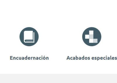 Pagina Web Empresa Impresion