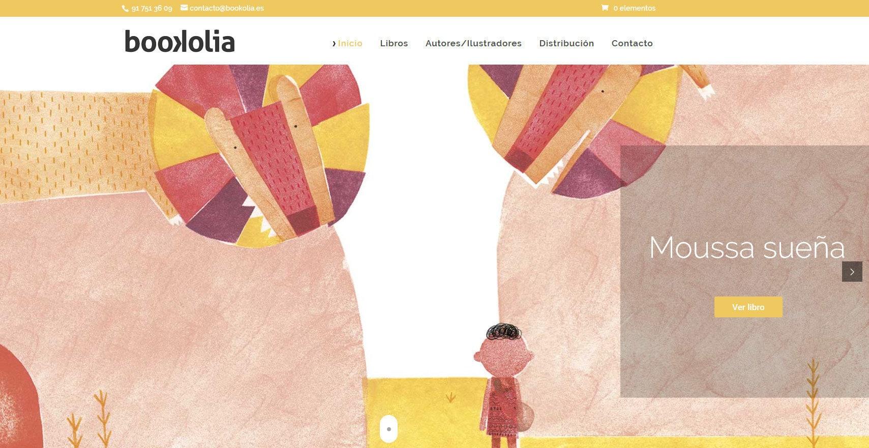 Pagina Web Empresa Libros