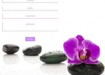 pagina web energia espiritual Diseño paginas web