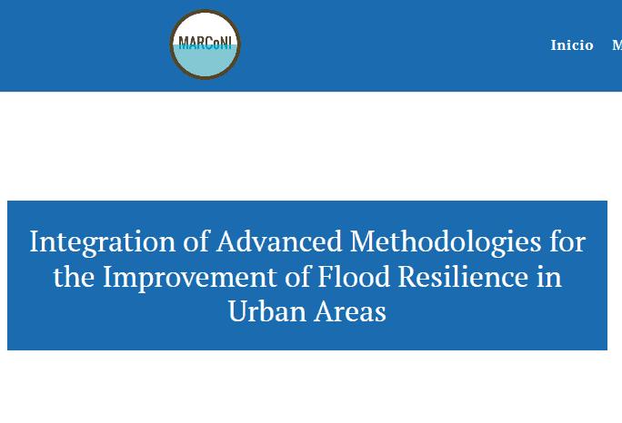 Diseño de página web para investigación de inundaciones universidad proyecto universitario