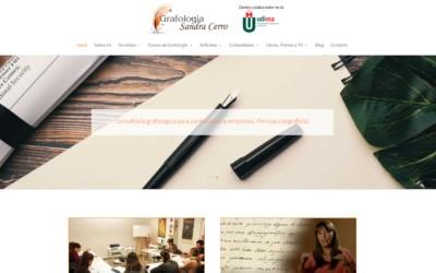 Diseño Pagina Web Para Profesional De Grafología En Madrid