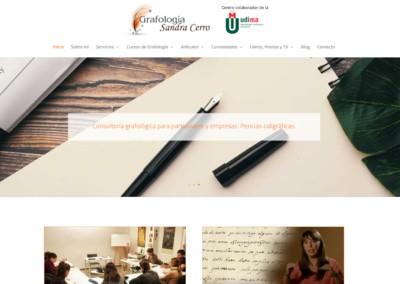 Pagina Web Grafologia Madrid