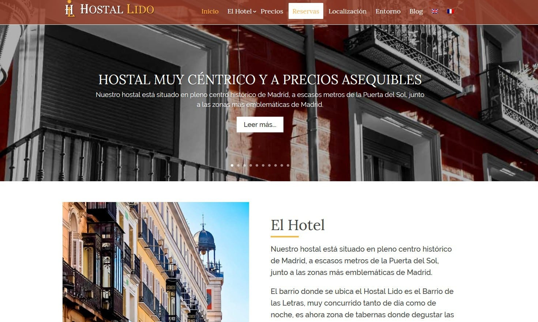 Crecion web Madrid