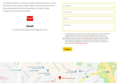 pagina web idiomas aleman Diseño paginas web