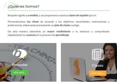 Pagina Web Idiomas Espanol