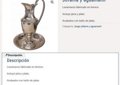 pagina web importacion articulos Diseño paginas web