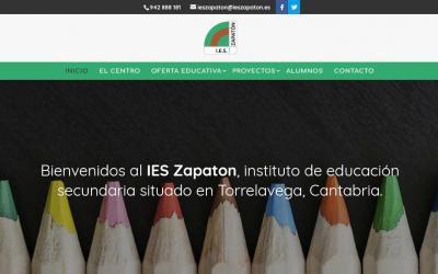 Diseño de páginas web para colegio instituto público formación ESO Ciclos formativos y Bachillerato