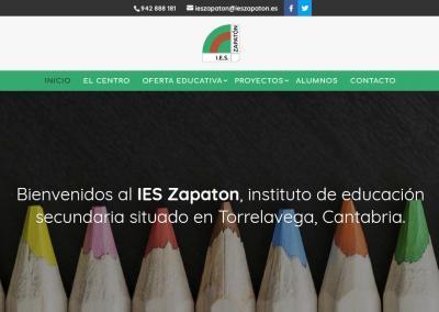 pagina web instituto formacion Diseño paginas web