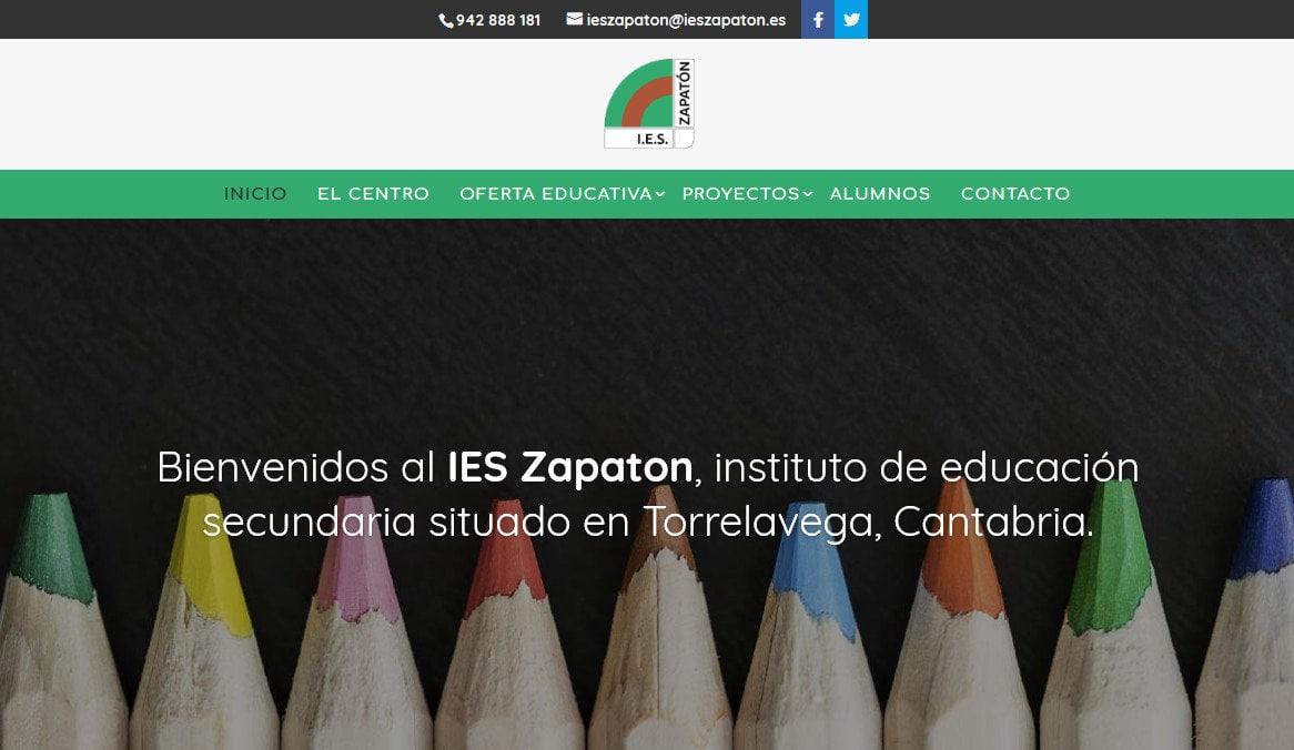 Pagina Web Instituto Formacion