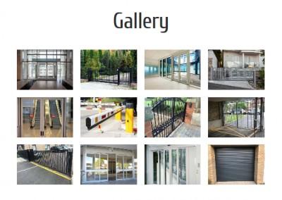 pagina web mantenimiento puertas garaje Diseño paginas web
